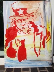 Uncle Sam Acryl