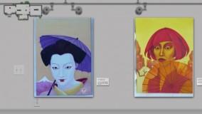 Zur animierten Online-Kunstgalerie Peter Daunhauer