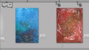 Zur animierten Online-Kunstgalerie Robert Rose